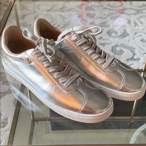 Stuart Weitzman Brand New Cristy Sneaker Silver